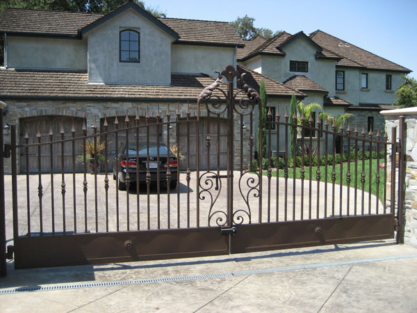 Iron Swing Gates San Diego