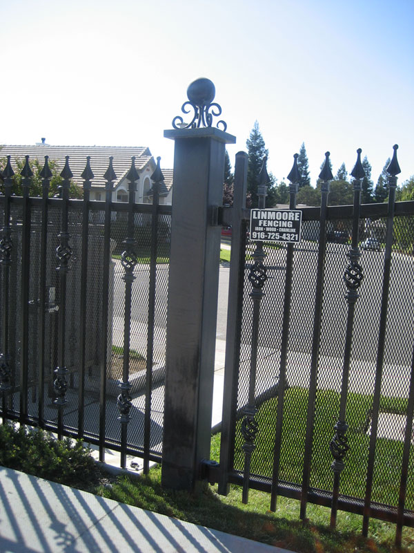 Iron Security Fence San Diego