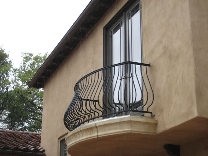 Iron Balcony Railings San Diego