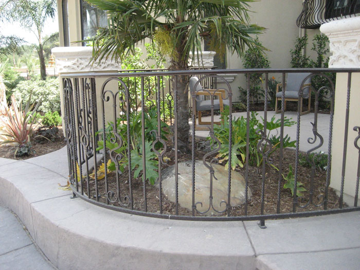 Ornamental Iron Railings San Diego