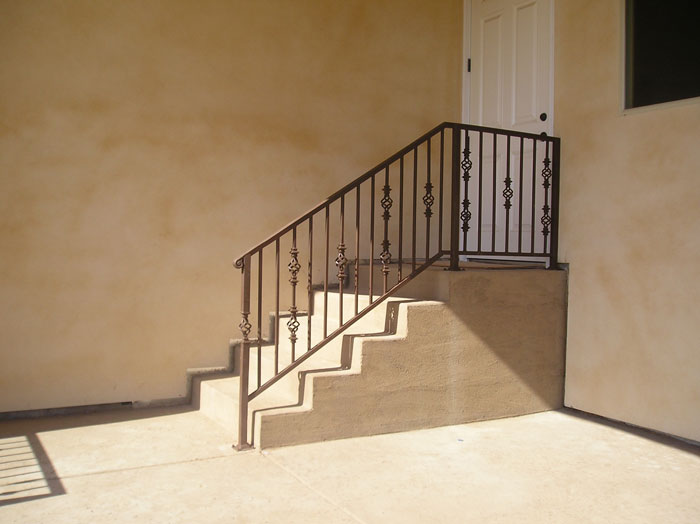 Iron Porch Railings San Diego