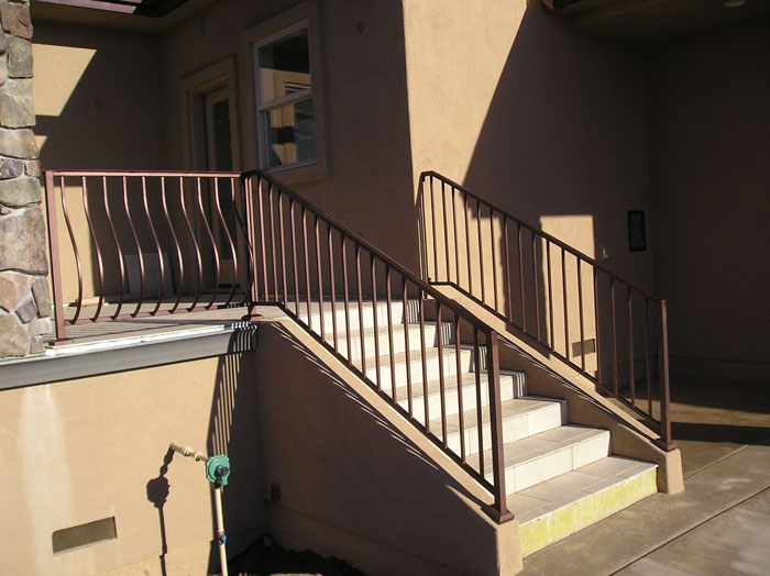 Wrought Iron Stair Railings San Diego