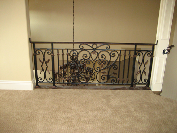 Interior Iron Railings San Diego